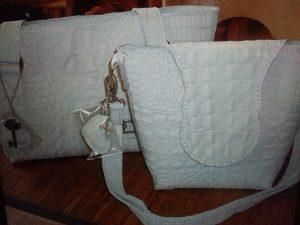 hand gemaakte tassen van leer